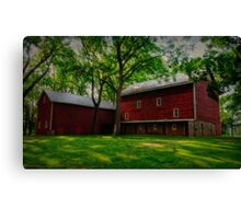 The Barn at Tinicum Park # 2 Canvas Print