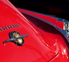1950 Oldsmobile Rocket 88 Rear Emblem and Taillight by Jill Reger