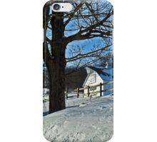 Blue Monday.  White Winter.  iPhone Case/Skin