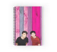 Phan aesthetic 5 Spiral Notebook