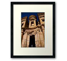 Ad-Deir (Monastery), Petra Framed Print