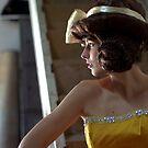 Her Profile by Alfredo Estrella