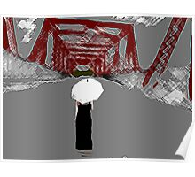 Crossing the Red Bridge Poster