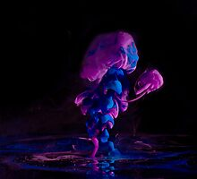 Ink + Water (purple/blue) by hellodaniel