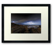 Shining Storm Framed Print