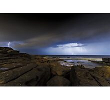 Shining Storm Photographic Print