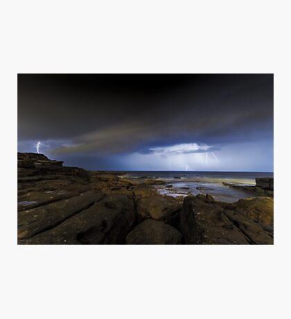 Shining Storm Photographic Print