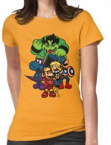 Mushroom A Womens Fitted T-Shirt