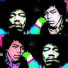 JIMI HENDRIX-WATCHTOWER by OTIS PORRITT