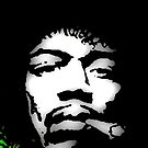 JIMI HENDRIX-WATCHTOWER 1A by OTIS PORRITT