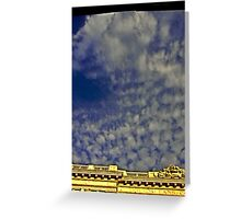 New Orleans Sky. Greeting Card