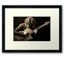 Soul, Heart and Leather Framed Print