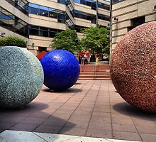 Public Sculpture - Van Ness, Washington, DC by SylviaS