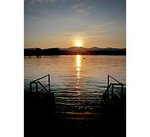 The Lake Beckons, My Friend Photographic Print