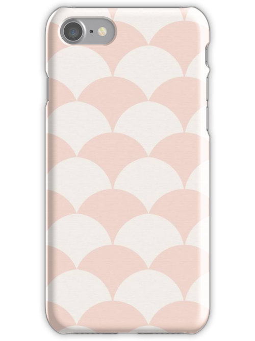 Fish Scale Iphone Case by haleybagel