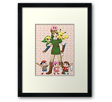 Super Smash Brawl Framed Print