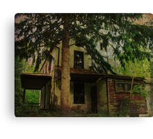The Old House Where Nobody Lives Canvas Print