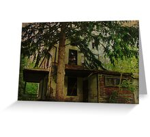 The Old House Where Nobody Lives Greeting Card