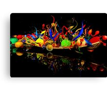 Chihuly Glass Boat Canvas Print