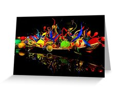 Chihuly Glass Boat Greeting Card