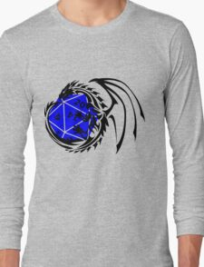 Dungeons and Dragons - Black and Blue! Long Sleeve T-Shirt