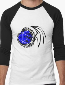 Dungeons and Dragons - Black and Blue! Men's Baseball ¾ T-Shirt