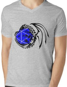 Dungeons and Dragons - Black and Blue! Mens V-Neck T-Shirt