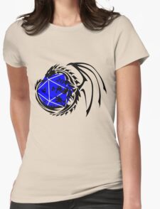 Dungeons and Dragons - Black and Blue! Womens Fitted T-Shirt
