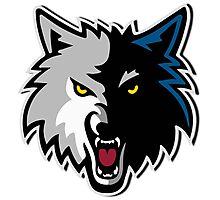 timberwolves Minnesota sport spirit Photographic Print