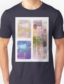 A Circle Amongst Squares Unisex T-Shirt