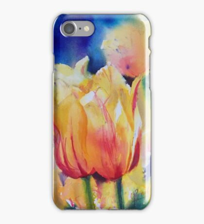 """Tulips"" iPhone Case/Skin"