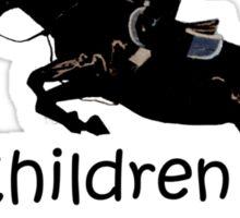 My Children Have Hooves Horse T-Shirts & Hoodies Sticker