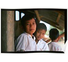 Schoolboys, Thailand Poster