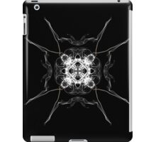white square on Black iPad Case/Skin