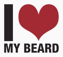 I (heart) my beard by Michael Christian