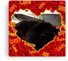 EyE can smell it  Canvas Print