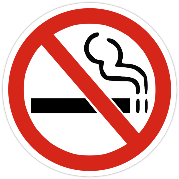 No Smoking Sign by SignShop