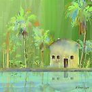 Tropical Hideaway by arline wagner
