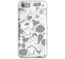 Meal a background iPhone Case/Skin