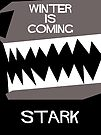 House Stark Minamalist Cutout d by atlasspecter
