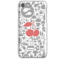 Meal a background4 iPhone Case/Skin