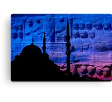 istanbul history Canvas Print