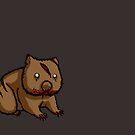 Zombie Wombat by kieutiepie