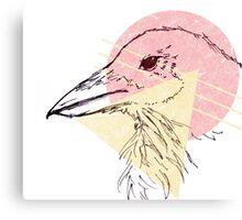 Simplistic Raven 2 Canvas Print