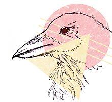 Simplistic Raven 2 Photographic Print