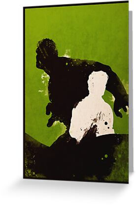 The Hulk [minimalist poster] by finnickodair