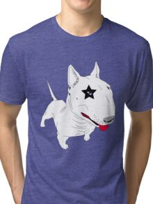 are you searching a bull terrier star? Tri-blend T-Shirt