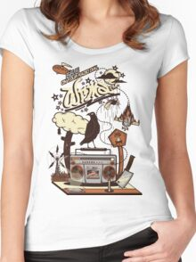 WRMS FM Women's Fitted Scoop T-Shirt