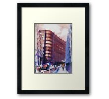 I remember when I worked here Framed Print