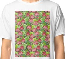 Lotus Flower - Red Classic T-Shirt